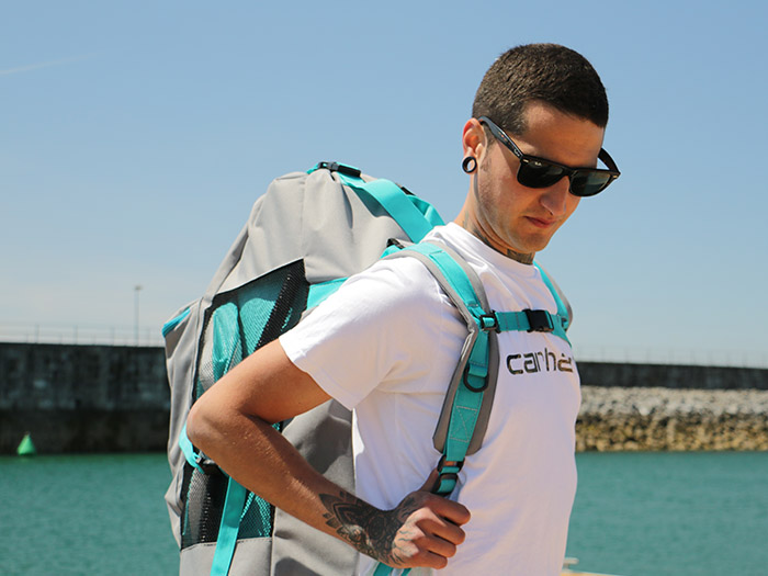Paddle Surf de fácil Transporte gracias a la mochila incluida