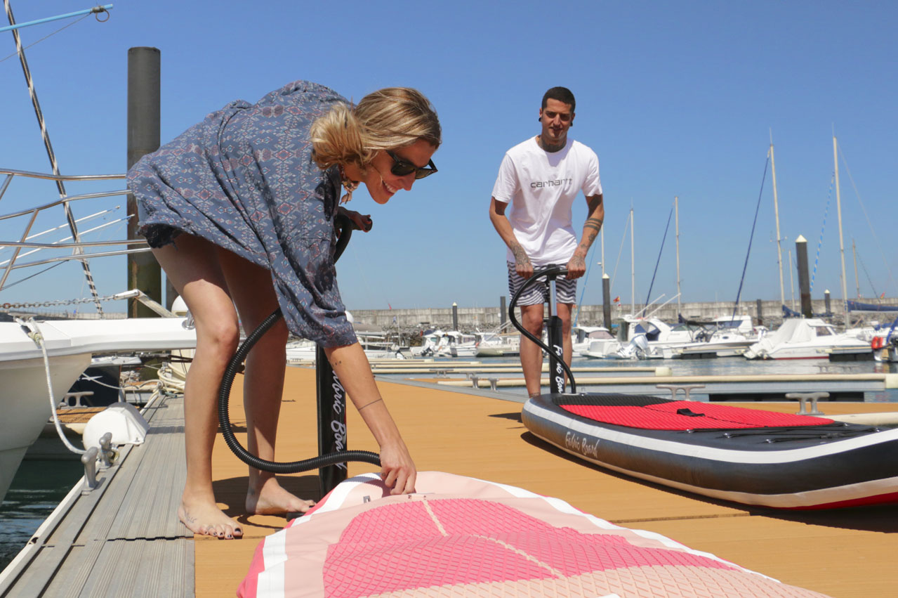 SUP Inflatable Boards Fabricboard
