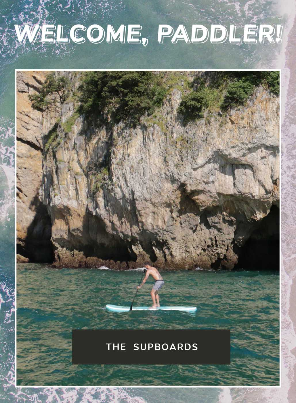 Supboards Fabricboard Paddle Surf Inflatable